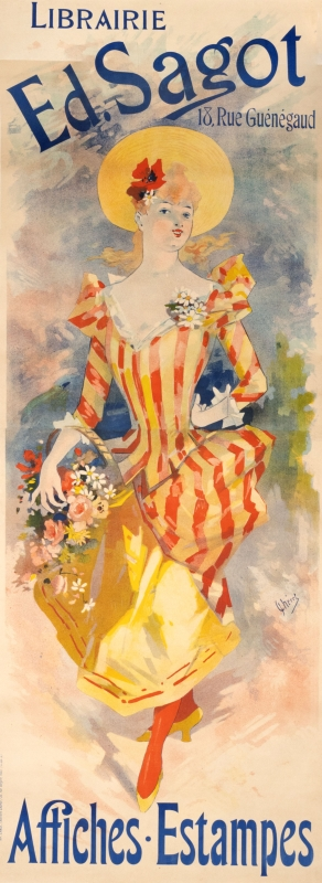 Pretty young woman with bouquet of flowers; red, yellow, blue